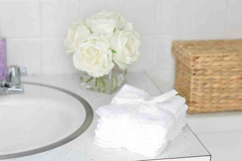 Simple touches make a master bathroom inviting