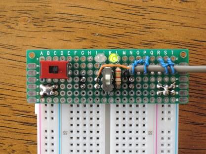 ブレッドボード用電源供給基板