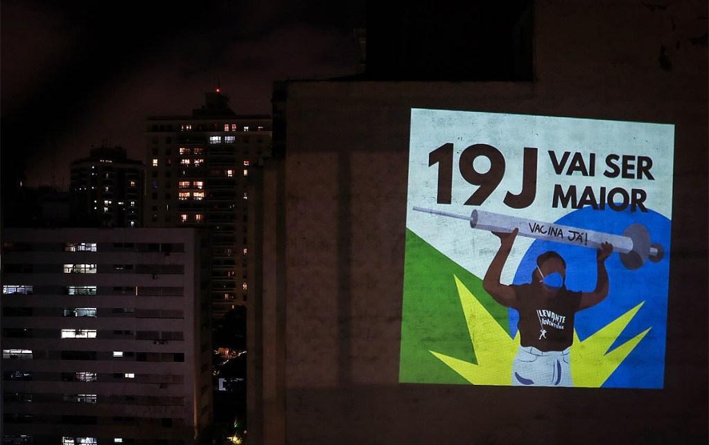 Atos contra Bolsonaro