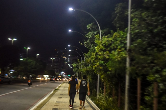 Iluminação da Roberto Freire