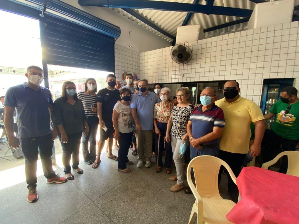 Após o Executivo sancionar Lei, Mercado Público das Quintas ganha o nome de Petrônio Medeiros, que trabalhou no local por 56 anos