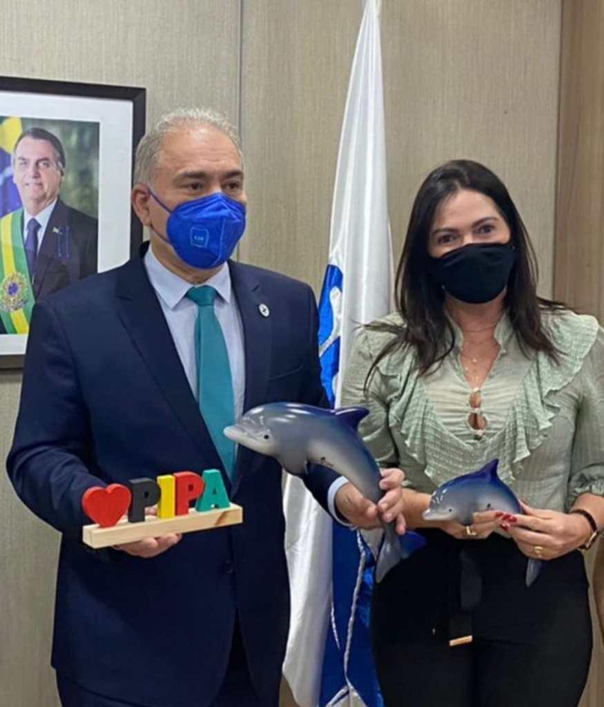 Tibau do Sul busca recursos em Brasília junto ao Ministro da Saúde e parlamentares potiguares