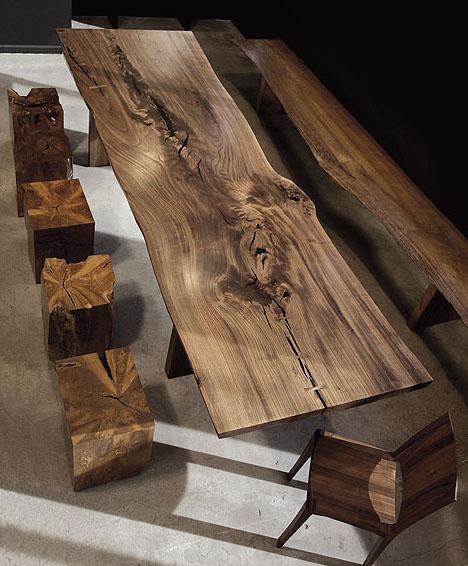 Contemporary Wood Furniture: Hudson Furniture's Modern Solid Wood In Claro Walnut