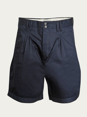 acne-pleated-cotton-navy-shorts-ss-2009-main