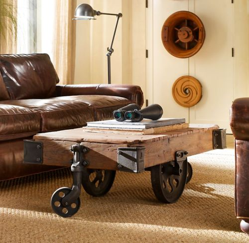 Merveilleux Furniture Factory Cart By Restoration Hardware