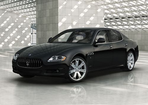 AMEX Black Card holders exclusive: Maserati Quattroporte Centurion