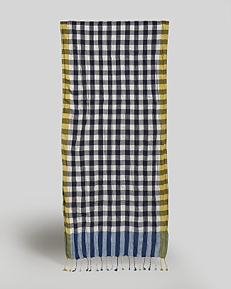 paul-smith-spring-summer-2009-gingham-scarf-navy