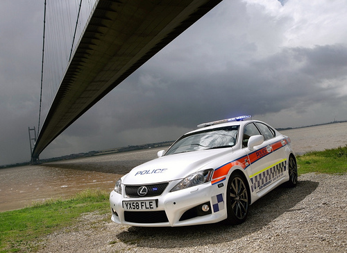 UK's Humberside Police Gets Lexus IS-Force