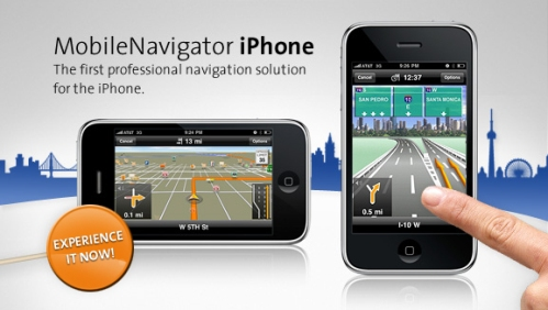 Navigon MobileNavigator iPhone App