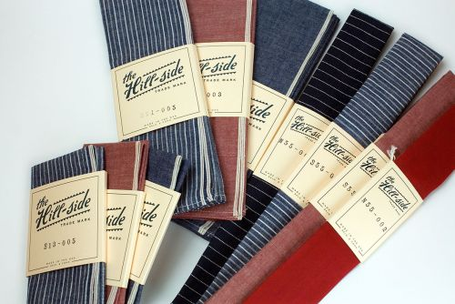 Ties, Bandanas and Pocket Squares by The Hill-Side