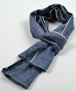 The Hill-side Chambray Scarves