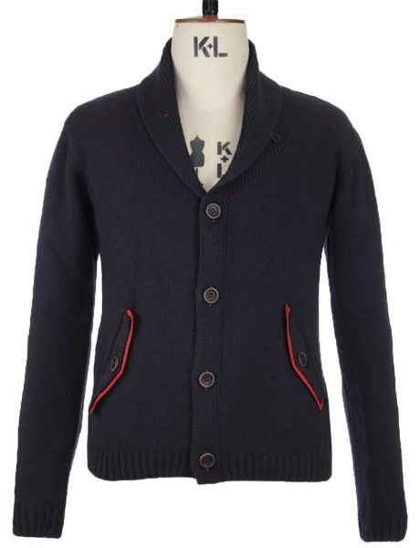 Oliver Spencer Shawl Collar Cardigan in Navy [Limited Edition]