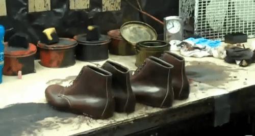 Leffot Goes Inside Alden's New England Factory