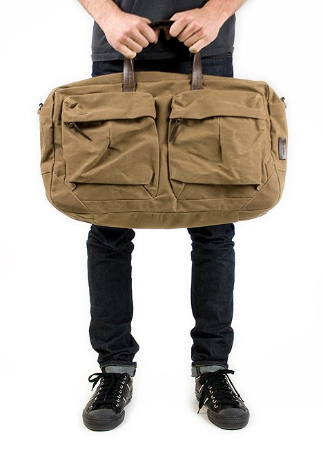 Property Of... Waxed Cotton and Canvas Bags [S/S 2010]