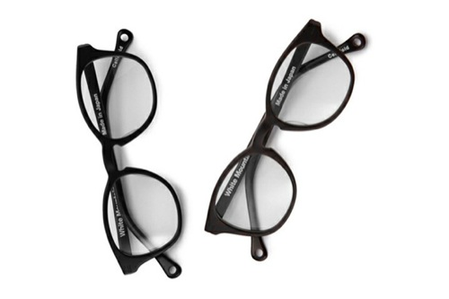 White Mountaineering Spring/Summer 2010 Eyewear