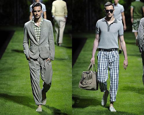 Milan Fashion Week: D&G Spring 2011