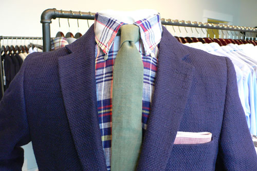 Our Legacy Cotton/Linen English Cloth Blazer