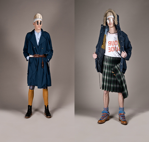 Henrik Vibskov 'The Slippery Spiral Situation' Fall/Winter 2010 Collection
