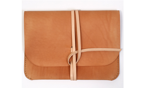 Kenton Sorenson Natural Leather iPad Portfolio