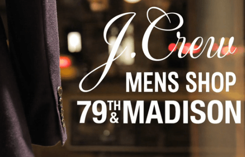 Inside the Shop | J.Crew Men's Shop on 79th & Madison