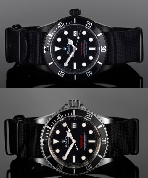 """Project X Designs Rolex """"Double Red"""" Submariners"""