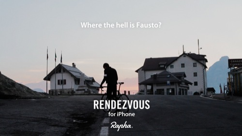 Introducing | Rapha Rendezvous iPhone App