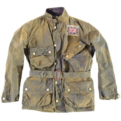 Limited edition   barbour 75th anniversary distressed jacket por.
