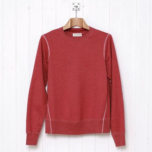 Fall 2010   Universal Works Heskin Marl Sweatshirt