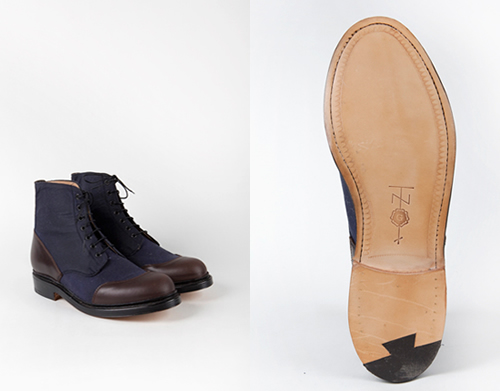 Denim Blue Boot   Tenue de Nîmes x Grenson Glenn Boot