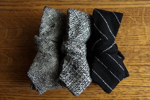 Closer Look | Alexander Olch Raw Silk Neckwear, S/S 2011