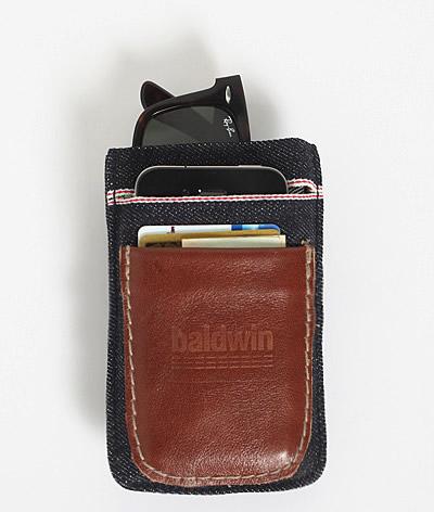 Baldwin Denim Wallet