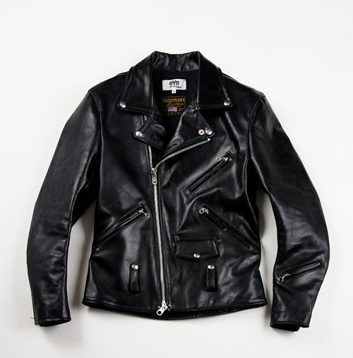 Junya Watanabe Man x Vanson Leathers Motorcycle Jacket