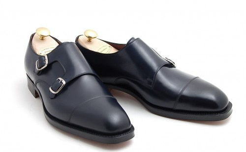 Edward Green for Leffot Westminster Double Monk Strap Shoe