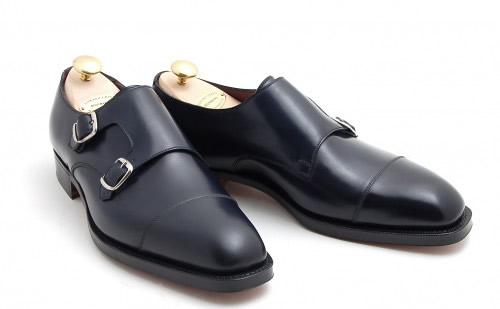 Edward Green for Leffot Westminster Double Monk Strap Shoe