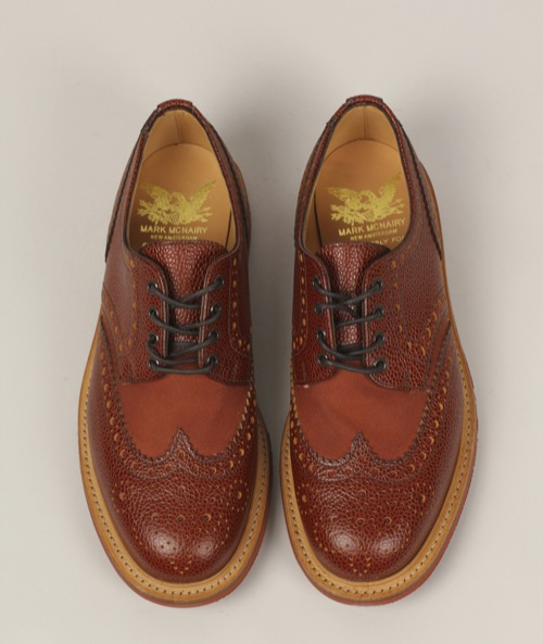 Mark McNairy for Norse Projects Two-Tone Wingtip Brogues