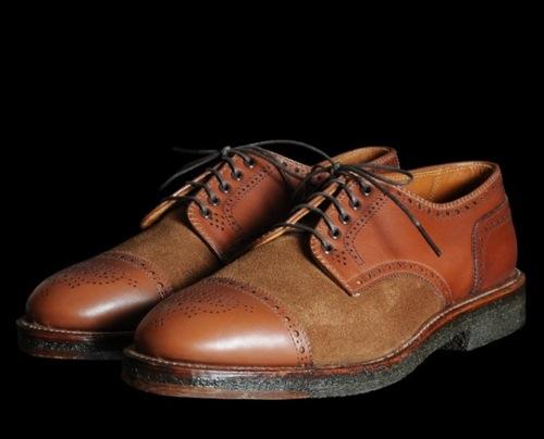 Alden x Unionmade Spectator & McAllister Shoes for Spring/Summer 2011