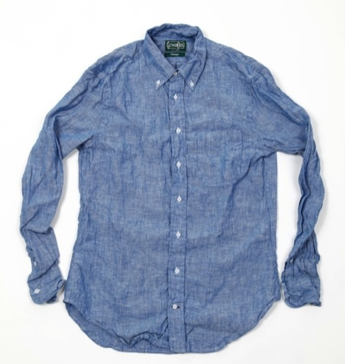 Gitman Vintage Cotton Linen Shirt