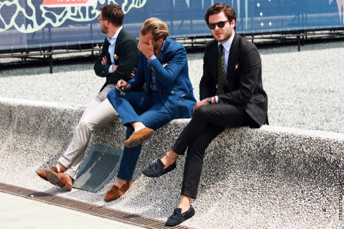 Pitti Uomo 2011 | Street Style by Nam Day One