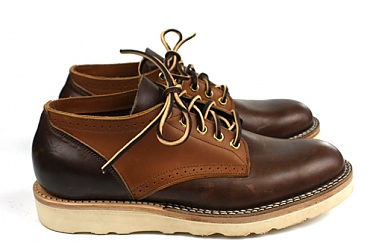 4 Horsemen Supplies x Viberg Saddle Oxford Shoe