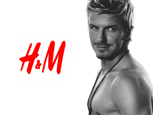 H&M x David Beckham Bodywear Launching February 2012