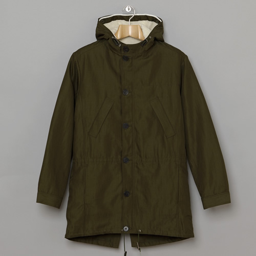 A.P.C. Wool Fishtail Parka