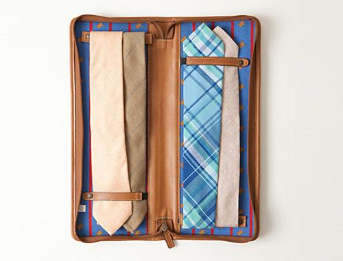 Moore & Giles x Pierrepont Hicks Necktie Travel Case