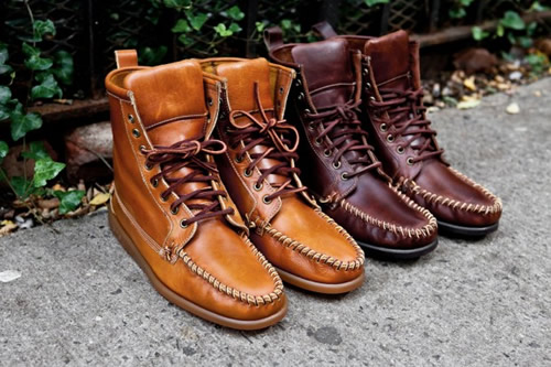 Ronnie Fieg for Sebago Fall/Winter 2011 Seneca Boots