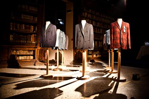 Boglioli Blue F/W 2012 from Japan at Biblioteca Braidense