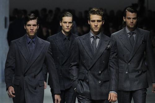 Corneliani Fall/Winter 2012 Men's Runway, Milan Fashion Week