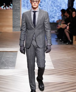 Ermenegildo Zegna Fall/Winter 2012 Men's Show at Milan Fashion Week