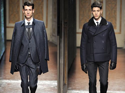 Pitti 2012 | Valentino Fall/Winter 2012 Collection Men's Runway