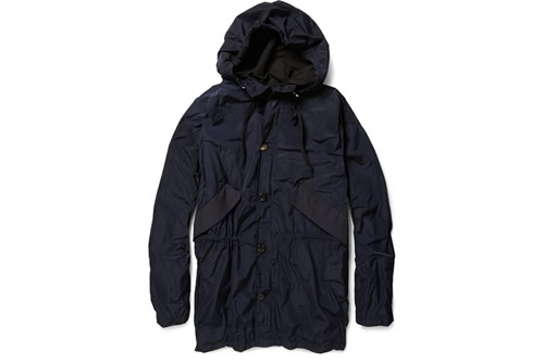 Marni Hooded Twill Parka Spring/Summer 2012 at MR PORTER