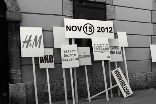 Maison Martin Margiela x H&M Fall/Winter 2012 Collection