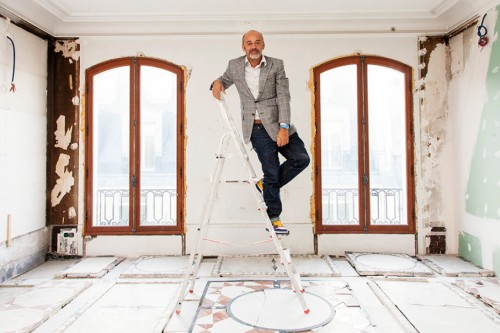 The Selby Christian Louboutin At His Home And Studio In Paris